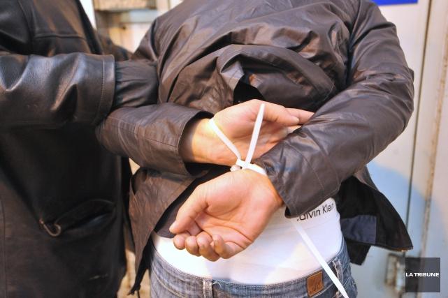 Détenu depuis son arrestation le 23décembre, Marco Godbout pourra finalement... (Archives La Tribune, René Marquis)