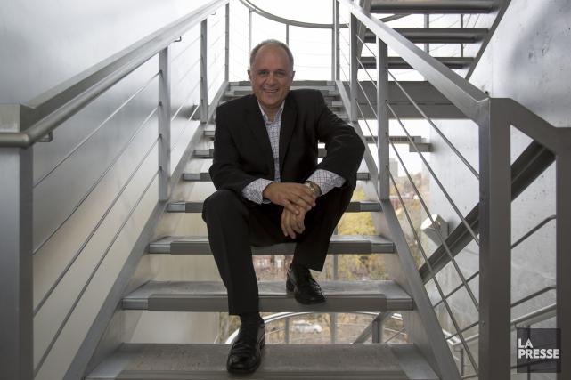 Alain Gosselin, directeur associé à laformationdes cadres et... (PHOTO SIMON GIROUX, LA PRESSE)