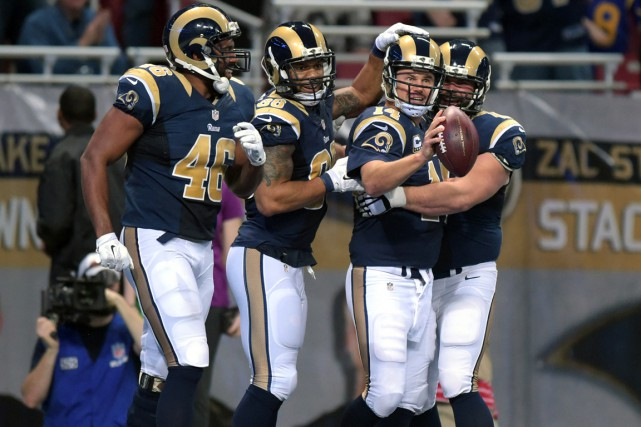 Les Rams de St. Louis pourraient déménager à Los... (Photo Kirby Lee, USA Today Sports)