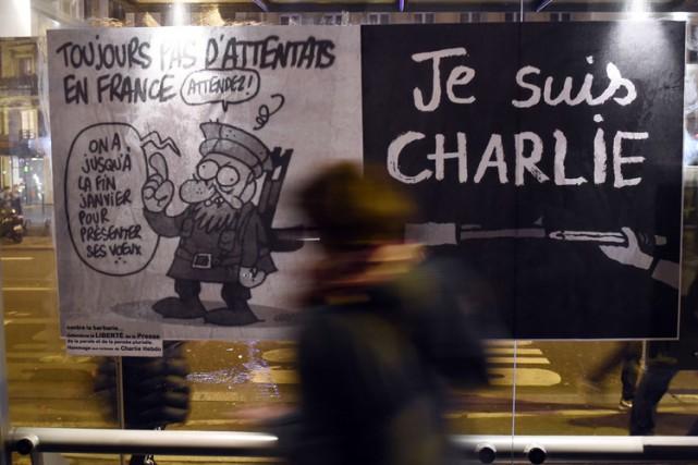L'Iran a dénoncé mercredi l'attentat contre le magazine satirique français... (Photo: AFP)