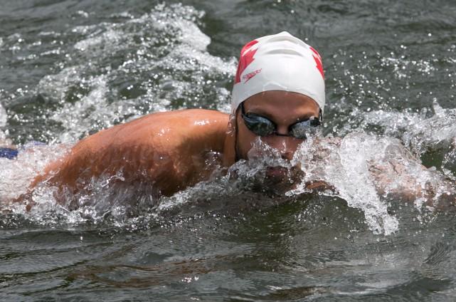 La carrière du nageur Xavier Desharnais a fait... (ARCHIVES LA NOUVELLE)
