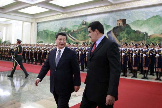 Le président chinois Xi Jinping a accueilli son... (Photo: AFP)