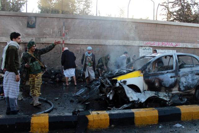 L'attentat a visé aux premières heures de la... (Photo: AFP)
