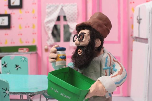 Le personnage de Ti-Mé en pâte à modeler... ((Courtoisie))