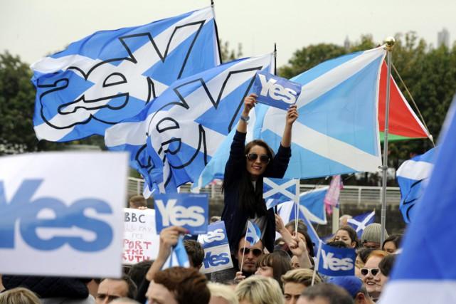 La position du Parti conservateur était clairement et... (Archives AFP)