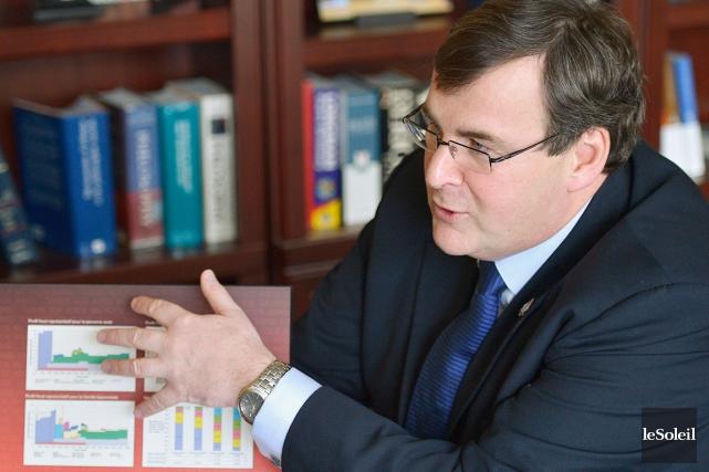 Le ministre de l'Emploi et de la Solidarité... (Photothèque Le Soleil, Yan Doublet)