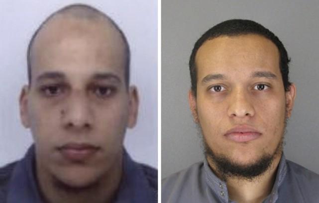 Le Français Chérif Kouachi, 32 ans, recherché avec son frère Said, 34 ans, dans... (Agence France-Presse)