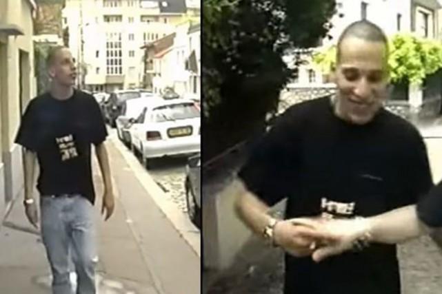 Chérif Kouachi en 2005.... (IMAGE LE FIGARO)