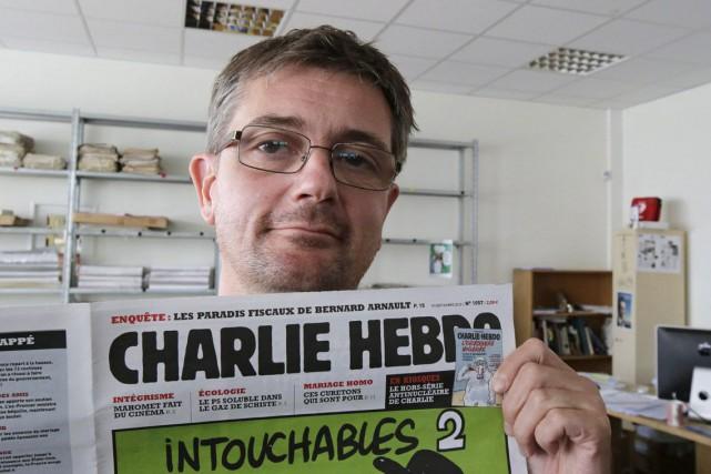Le directeur de l'information du Charlie Hebdo, Charb.... (Photo: Michel Euler, AP)