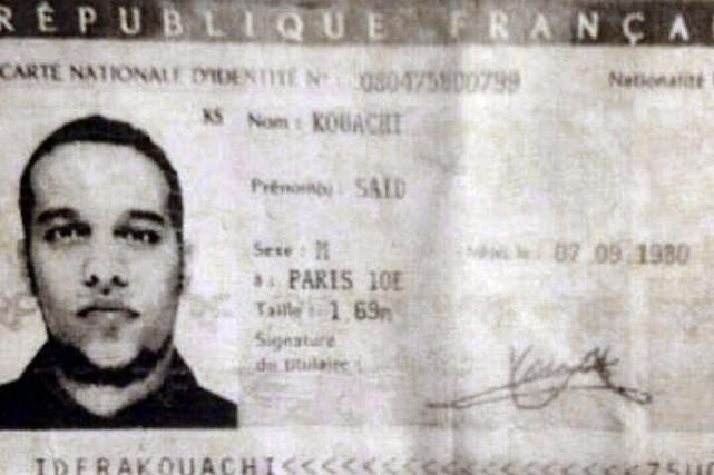 Une photocopie de la carte d'identité d'un des... (PHOTO AFP)