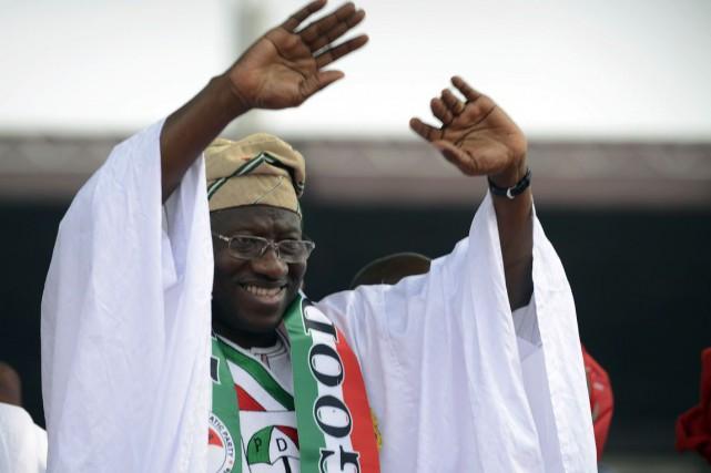 GoodluckJonathan, 57 ans, dirige le Nigeria depuis la... (PHOTO PIUS UTOMI EKPEI, AFP)