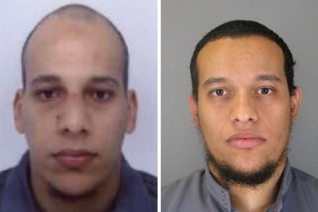 Chérif et SaïdKouachi... (PHOTO AGENCE FRANCE-PRESSE)