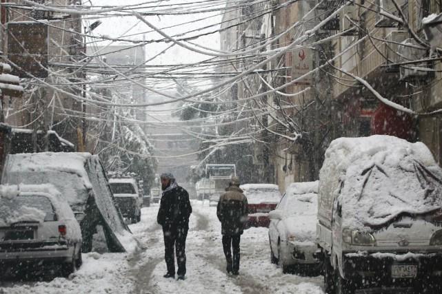 La capitale syrienne Damas (sur la photo) a... (PHOTO Badra Mamet, REUTERS)
