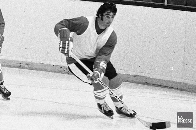 Jean-Paul Parisé lors du camp d'entraînement d'Équipe Canada... (Photo Pierre McCann, archives La Presse)