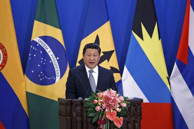 Le président chinois Xi Jinpinga souhaité jeudi que... (Photo Kim Kyung-Hoon, REUTERS)