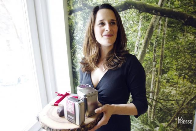 Geneviève Grandbois a ouvert, en décembre dernier, une... (Photo Olivier Jean, La Presse)