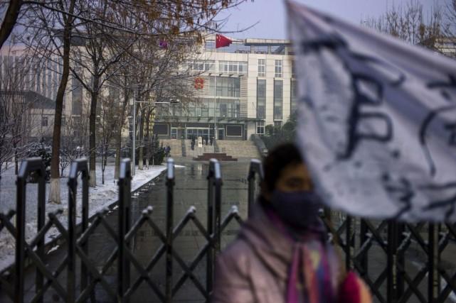 Selon la Fondation Dui Hua, l'année 2013, qui... (PHOTO FRED DUFOUR, ARCHIVES AFP)