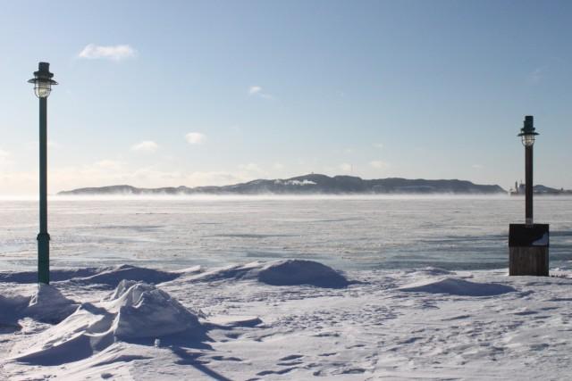 Il fait froid au Québec, notamment à Sept-Îles... (Collaboration spéciale, Fanny Lévesque)