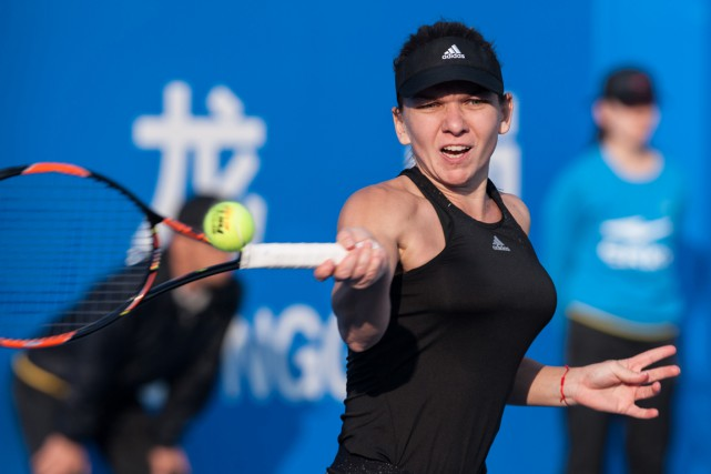 Simona Halep... (Photo AFP)