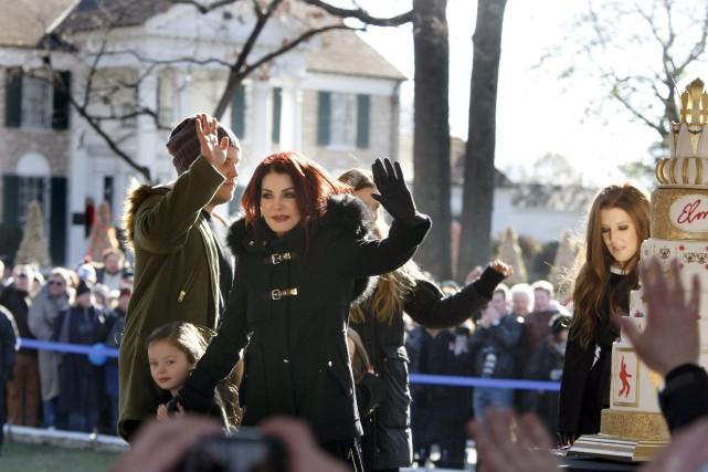 Priscilla Presley, qui a été mariée au King... (Photo Karen Pulfer Focht, Reuters)