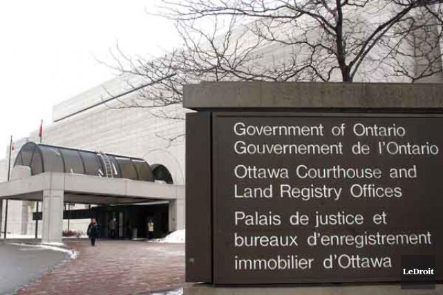 Le palais de justice d'Ottawa a été évacué en raison d'un bris d'aqueduc, jeudi... (Archives, LeDroit)
