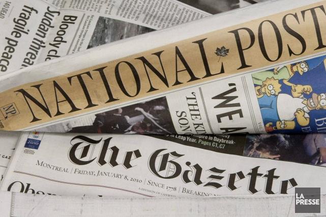 Postmedia est le propriétaire de plusieurs journaux dont... (Photo archives La Presse Canadienne)