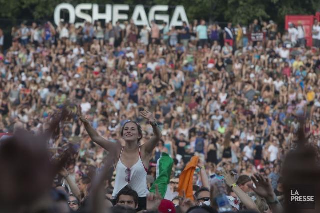 Le grand festival rock américain Bonnaroo, installé dans une ferme du Tennessee... (Photo Olivier Jean, archives La Presse)