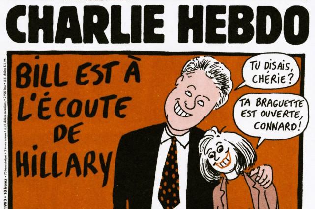 Une caricature de Wolinski, publiée en janvier 1993....