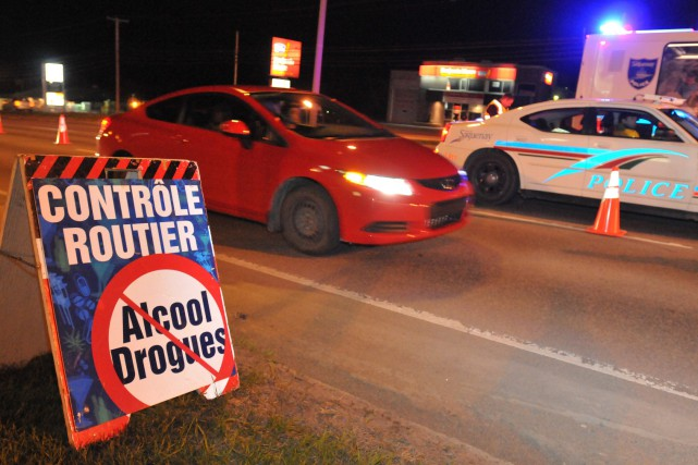 299 alcootests ont été échoués à Saguenay en... ((Archives))