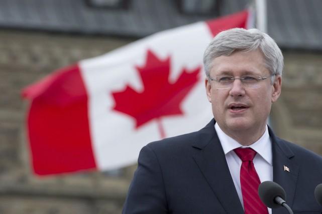 Le premier ministre Stephen Harper... (Archives La Presse Canadienne)