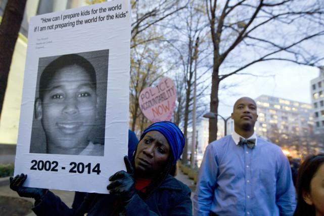 Le 22 novembre dernier, Timothy Loehmann, un policier... (Photo archives AP)