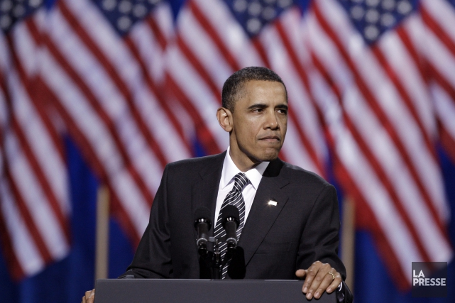 Le président américain, Barack Obama... (Photo Reed Saxon, Archives AP)