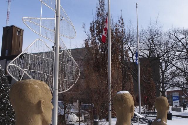 La Ville de Granby a emboîté le pas à l'Assemblée nationale, à Québec,... (Photo Alain Dion)