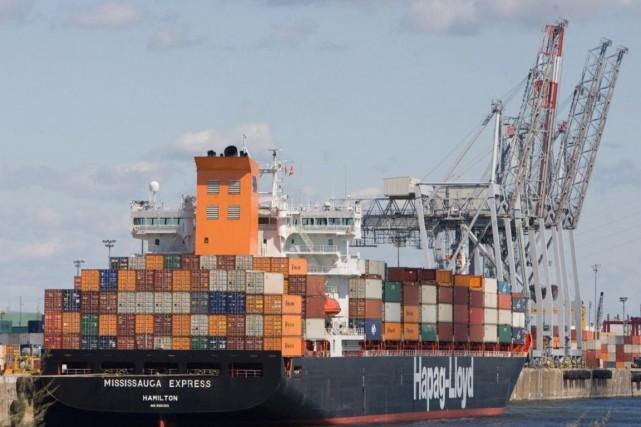 Le port de Montréal est le deuxième en... (Photo fournie par l'Administration portuaire de Montréal)