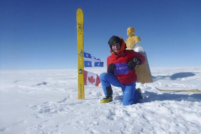 L'aventurier Frédéric Dion, qui a notamment atteint en... (Photo: Frédéric Dion)