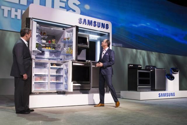 Samsung a promis que 90 % de ses... (Photo Steve Marcus, Reuters)
