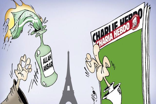 Le caricaturiste marocain Khalid Gueddar promet de poursuivre... (IMAGE FOURNIE PAR KHALID GUEDDAR)