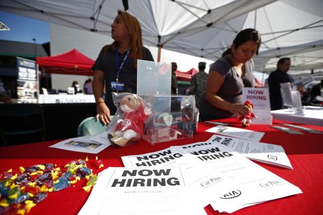 Les créations d'emplois ont atteint en 2014 un... (Photo Lucy Nicholson, archives Reuters)