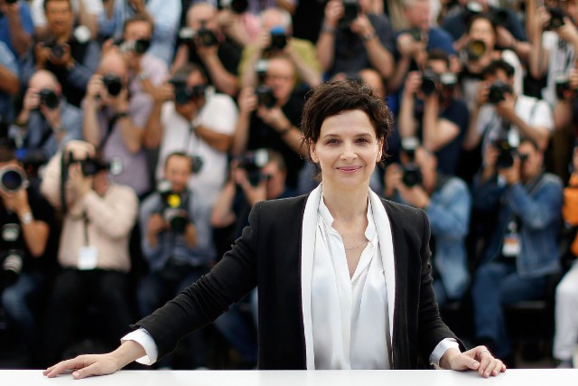 Juliette Binoche... (PHOTO VALERY HACHE, AFP)