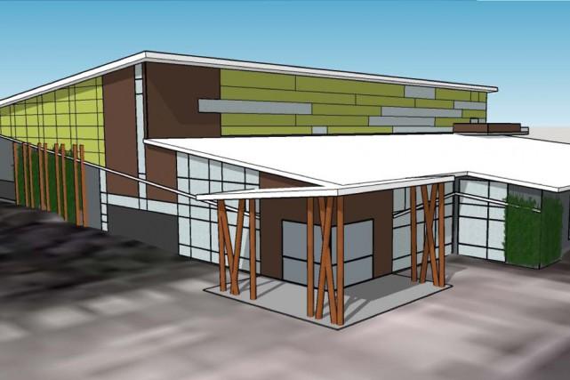 La construction du Centre d'excellence régional académique et...