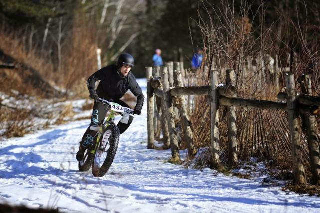 Les passionnés de cyclisme pourront retrouver leur monture et braver la neige... (Photo fournie)