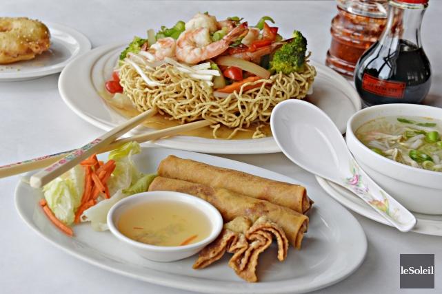 À 8,25$ pour un repas incluant la soupe... (Le Soleil, Pascal Ratthé)