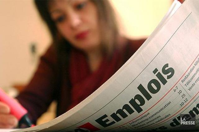 Une révision du taux de chômage par Statistique Canada, pour le mois de... (Photothèque La Presse)
