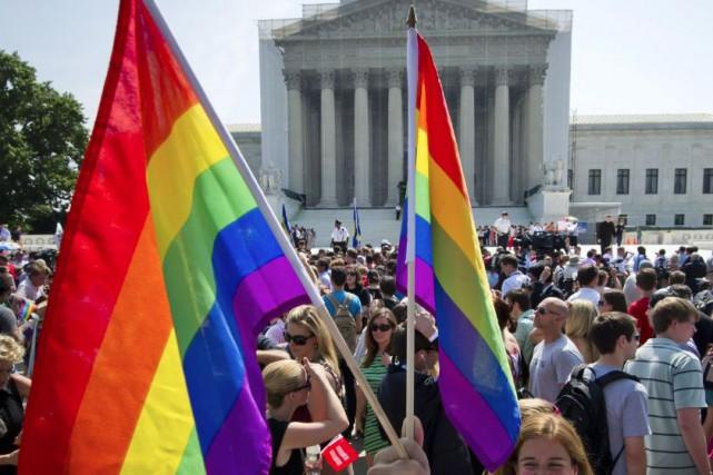 Aux États-Unis, où les lois sur le mariage... (Photo Archives AFP)