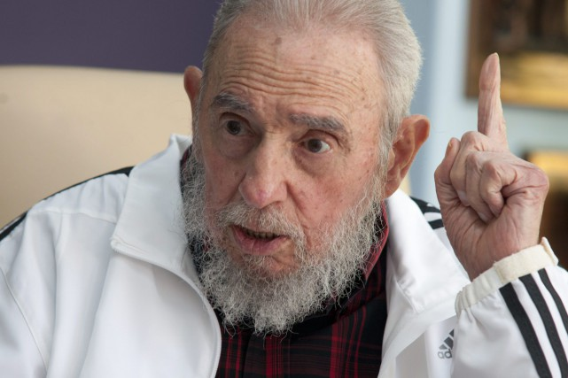 Fidel Castro... (Photo Alex Castro, AP)