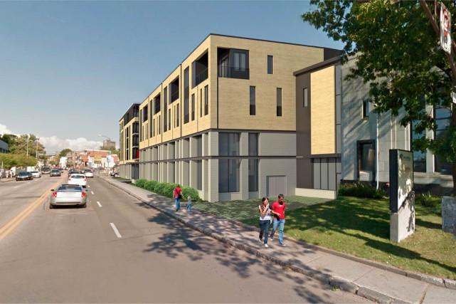 En tout, 32 nouvelles unités d'habitation et quatre...