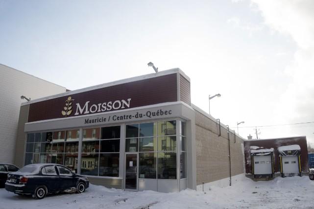 Les nouveaux locaux de Moisson Mauricie/Centre-du-Québec.... (Stéphane Lessard)