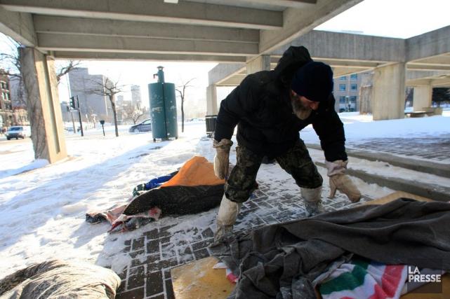 Mission Bon Accueil apporte de l'aide à des... (PHOTO MARTIN CHAMBERLAND, ARCHIVES LA PRESSE)