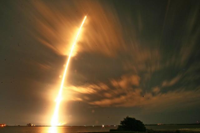 SpaceX travaille depuis deux ans au développement de... (Photo Red Huber, AP)