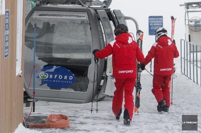 Les gestionnaires des stations de ski espèrent que... (IMACOM, Frédéric Côté)